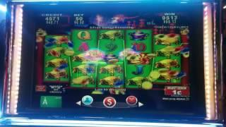BIG WIN - Konami China Shores Slot Machine Bonus