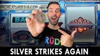 WOW! Silver Strike #Winning at Coushatta Casino