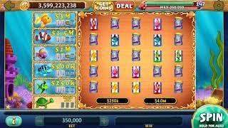 GOLD FISH Video Slot Casino Game with a FISH FOOD BONUS
