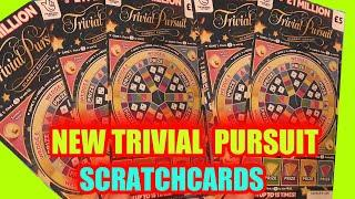 NEW TRIVIAL PURSUIT SCRATCHCARDS..JUST OUT.....£1.MILLION £5 CARDS...