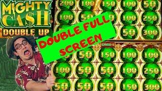 FIRST ON YouTube DOUBLE FULL SCREEN• •Mighty Cash Double Up• Live Play | Bonuses