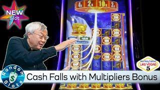 ️ New - Cash Falls Slot Machine Bonus