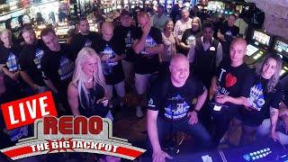 LIVE MA$$IVE HANDPAYS from the Atlantis Casino in Reno   The Big Jackpot