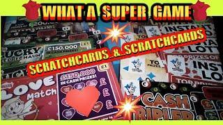 Scratchcards..Scratchcards & Scratchcards. its..Viewers Vs Piggy.. 20X Cash..Super 7s..Cashword.etc