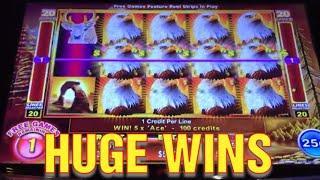 $1000 LIVE PLAY CASINO HUGE WINS BETTER THAN A JACKPOT
