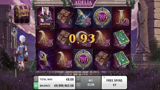Adelia The Fortune Wielder slot from Foxium - Gameplay