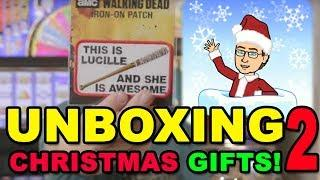 CHRISTMAS CARDS & GIFTS UNBOXING - PART 2 - MERRY CHRISTMAS 2018