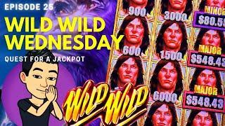 WILD WILD WEDNESDAY! QUEST FOR A JACKPOT [EP 25]  TARZAN GRAND Slot Machine (Aristocrat)