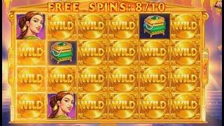 Hand Of Gold Slot - Almost Full Screen Wilds, POOR PAYOUT!