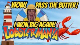 AWESOME WINNING! BETTER THAN A HANDPAY? LOBSTERMANIA