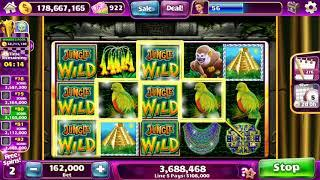 "JUNGLE WILD Video Slot Casino Game with a ""BIG WIN"" FREE SPIN  BONUS"
