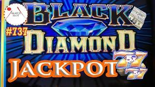 Live High Limit Big Jackpot Handpay - Black Diamond Slot Max Bet $27/ 9 Line 赤富士スロット,  勝利の女神が降臨