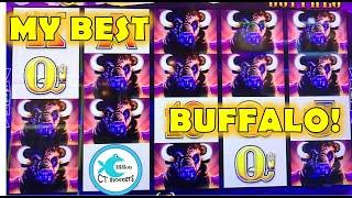 MY BEST BUFFALO SESSION ON BOOST! HERDS, BONUS BOOSTS! HUGE PROFIT! LOVE WONDER 4 SLOT MACHINES!