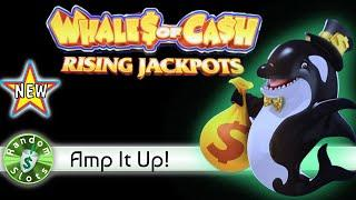 ️ New - Whales of Cash Rising Jackpots slot machine, Bonus