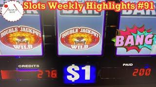 Slots Weekly Highlights #91 to You who are busyTUTS REIGN Slot 9 Line 赤富士スロット High Limit Handpay