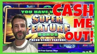 CASH ME OUT FROM SAN MANUEL CASINO! SLOT MACHINE CASH OUT STRATEGY