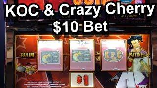 KING OF COIN WAS VERY COLD UNTIL WE HIT THIS HUGE WIN AT WINSTAR WORLD CASINO THACKERVILLE !!
