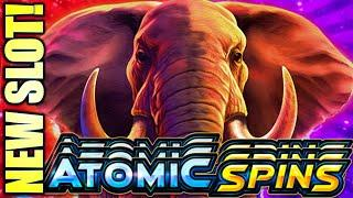 NEW SLOT! ATOMIC SPINS (ALPINE & SAFARI) BEAST MODE Slot Machine (Aristocrat)