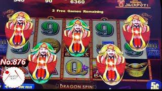 Viewer's RequestCHOY SUN JACKPOTS Slot Machine (5c/Bet $4.50) Free Spin Bonus & Dragon Bonus赤富士スロット