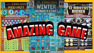 FANTASTIC..WINS...WhooooOOOOOOO..EMERALD DOUBLER..REDHOT BINGO..12 MONTHS RICHER..£100 LOADED