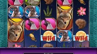 HOWLING WILDS Video Slot Casino Game with a FULL MOON FREE SPIN BONUS