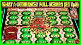 WHAT A COMEBACK! FULL SCREEN 2X $1800 FREE PLAY INTO PROFIT | MIGHTY CASH DOUBLE UP | ( S2 – Ep3 )