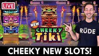 LIVE - Cheeky New SLOTS on PlayLuckyland Social Casino