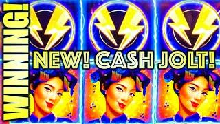 NEW SLOT! LADIES & CASH!  CASH JOLT (GRAND PALACE) Slot Machine (AGS)