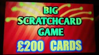 BIG £200 SCRATCHCARD GAME..£500 LOADED..MONEY KINGDOM