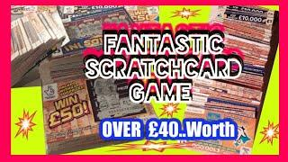 """EXCITING Scratchcard Game£40.00 worth  &150""""LIKES""""by around 2pm Wednesday for DAYTIME BONUS GAME"""