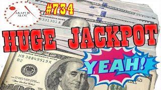 2 Lines Big Handpay Jackpot  Triple Double Butterfly Slot 9 Line $18, Pechanga, あかふじ, 赤富士スロット, カジノ