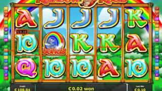 Rainbow Reels Video Slot - Novamatic and Novoline games