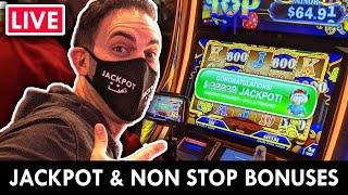 LIVE JACKPOT - Nonstop BONUS NIGHT at the Casino  Agua Caliente