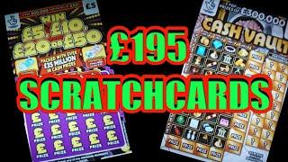 FANTASTIC GAME..£195 SCRATCHCARDS..& RAFFLE PRIZE DRAW..WOW