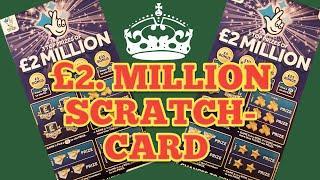 ..£2 Milion..BIG DADDY £5 SCRATCHCARDS....Two Card Wonder Game....mmmmmmMMM..says