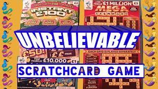 Amazing...£1.Million Cashword..Scratchcard ..and Bonus cards..mmmmmmMMM