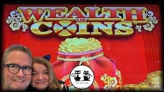 WHEEL OF FORTUNE 4D  WEALTH OF COINS