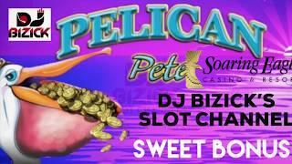 Pelican Pete Slot Machine  STICKY WILDS  LOW ROLLIN' & HI WINNIN'