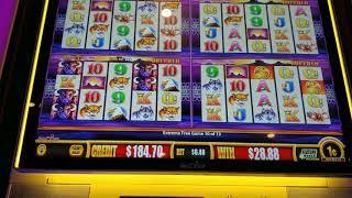 I got BOOSED!  Buffalo Bonus Retriggered, Big Win