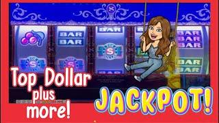 HANDPAY JACKPOT - 9 LINE TOP DOLLAR $90 BETS - SLOT MACHINE LIVE PLAY - TRIPLE DOUBLE HOT ICE + MORE