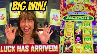 FIRST BIG WIN! 5 COIN FRENZY JACKPOTS