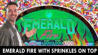 Emerald Fire Red Screens with Sprinkles on top! #ad