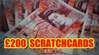 BIG GAME..£200..SCRATCHCARDS...SUPER 7s..SPINE £100....WHoooooOOOOO...What a Game