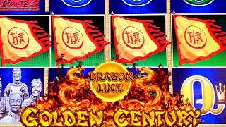 High Limit Golden Century DRAGON LINK Slot Machine Bonuses & NICE WINS   Great Session  SE-5   EP-22