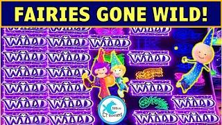 OMG! I HAD NO IDEA THOSE FAIRIES COULD PAY! CASH WIZARD WORLD SLOT MACHINE MAX BET BONUSES!