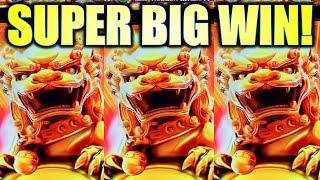 SUPER BIG WIN! AMAZING BONUS! LION CHARGE MIGHTY CASH ULTRA Slot Machine (Aristocrat)