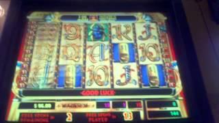 IGT Cleopatra High Limit $1 denom 15 free spin bonus