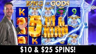 Slaying on KING OF GODS  $10-$25 / Spin on PlayChumba  BCSlots