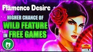 Flamenco Desire slot machine, 2 sessions, bonus