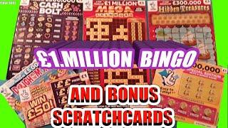 Scratchcards..Scratchcards....Scratchcards...£1.Million CASHWORD..and Bonus Cards..mmmmmmMMM